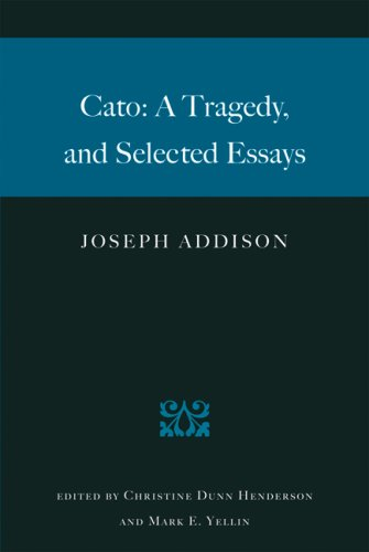Cato A Tragedy, and Selected Essays  2004 edition cover