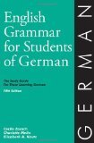 English Grammar for Students of German, 6th Edition The Study Guide for Those Learning German 6th 2007 9780934034432 Front Cover