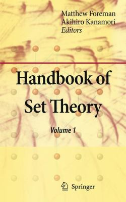 Handbook of Set Theory   2010 9781402048432 Front Cover