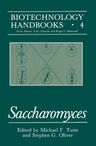 Saccharomyces   1991 9781489926432 Front Cover