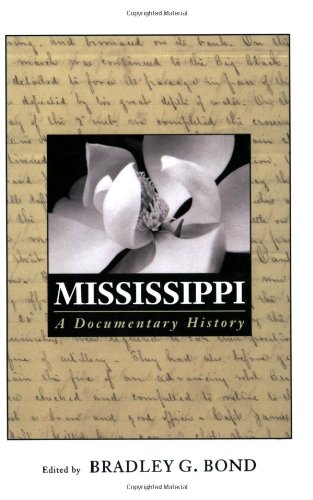 Mississippi A Documentary History  2003 edition cover