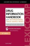 Drug Information Handbook with International Trade Names Index.  24th 2015 edition cover