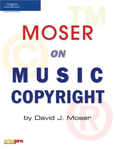 Moser on Music Copyright   2006 edition cover