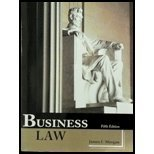 BUSINESS LAW                            N/A 9781627513432 Front Cover