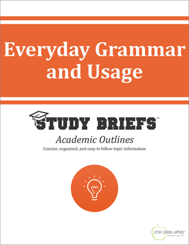 Everyday Grammar and Usage   2015 9781634261432 Front Cover
