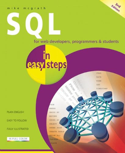SQL For Web Developers, Programmers and Students 3rd 2012 edition cover