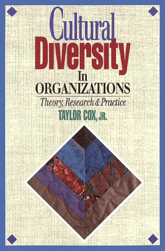 Cultural Diversity in Organizations Theory, Research and Practice  1994 edition cover