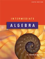 Intermediate Algebra 6th ed Text Soft N/A edition cover