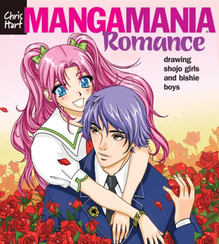 Manga Mania Romance Drawing Shojo Girls and Bishie Boys  2007 9781933027432 Front Cover