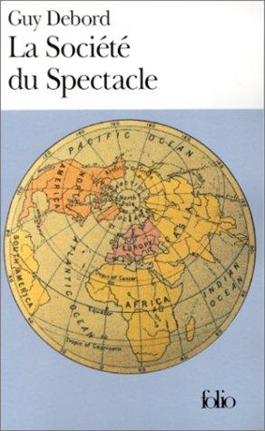LA SOCIETE DU SPECTACLE 1st edition cover