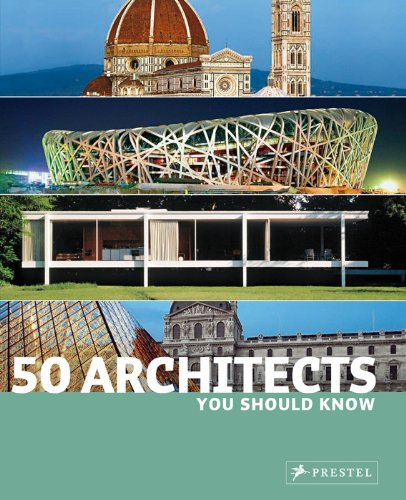 50 Architects You Should Know   2008 9783791340432 Front Cover