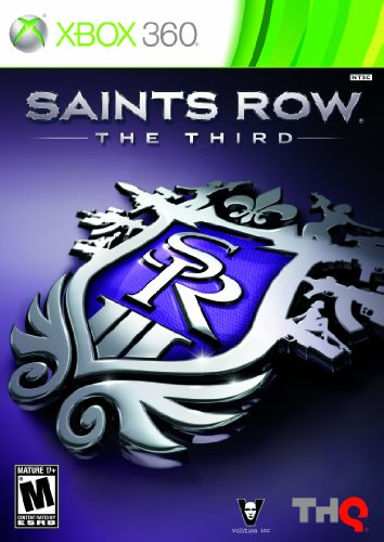 Saint's Row: The Third - Xbox 360 Xbox 360 artwork
