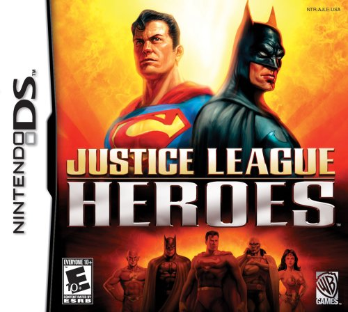 Justice League Heroes - Nintendo DS Nintendo DS artwork