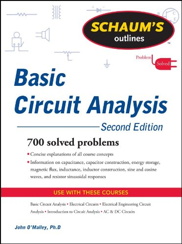 Basic Circuit Analysis  2nd 2011 edition cover