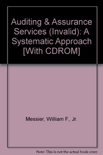 Auditing and Assurance Services A Systematic Approach 8th 2012 edition cover