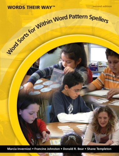 Words Their Way Word Sorts for Within Word Pattern Spellers 2nd 2009 edition cover