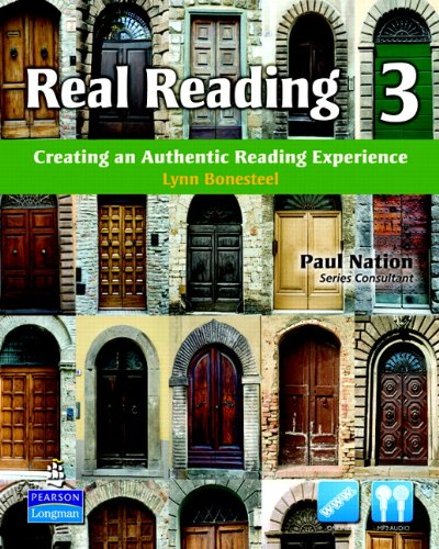 Real Reading Creating an Authentic Reading Experience  2011 edition cover