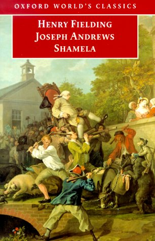 Joseph Andrews and Shamela  2nd 1999 (Revised) edition cover