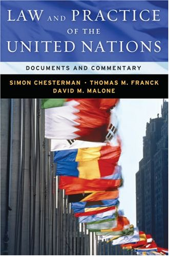 Law and Practice of the United Nations Documents and Commentary  2008 edition cover