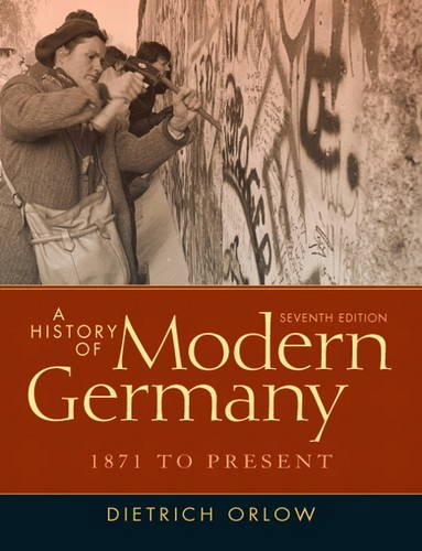 History of Modern Germany, 1871 to Present  7th 2012 (Revised) edition cover