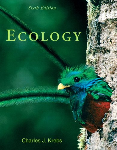 Ecology The Experimental Analysis of Distribution and Abundance 6th 2009 edition cover