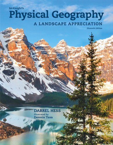 McKnight's Physical Geography A Landscape Appreciation 11th 2014 edition cover