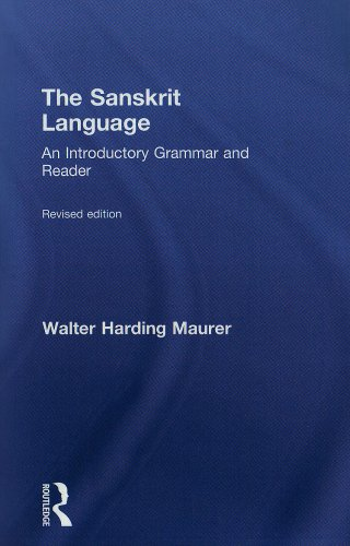 Sanskrit Language An Introductory Grammar and Reader  2002 (Revised) edition cover