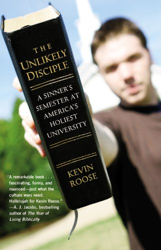 Unlikely Disciple A Sinner's Semester at America's Holiest University  2010 edition cover