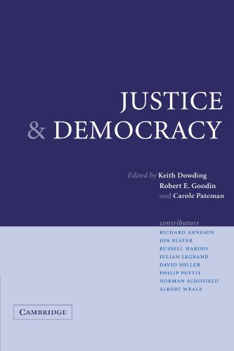 Justice and Democracy Essays for Brian Barry  2004 9780521545433 Front Cover