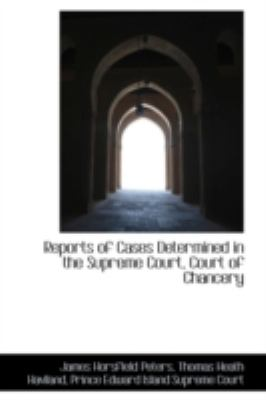 Reports of Cases Determined in the Supreme Court, Court of Chancery:   2008 edition cover