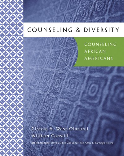Counseling and Diversity Counseling African Americans  2011 edition cover