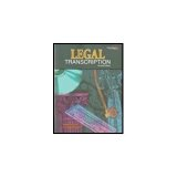 LEGAL TRANSCRIPTION-W/CD N/A 9780763837433 Front Cover