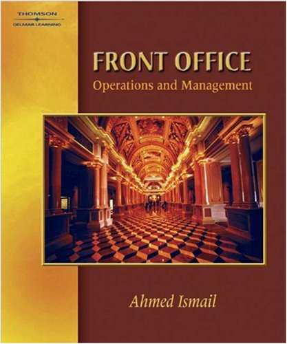 Front Office Operations and Management   2002 9780766823433 Front Cover