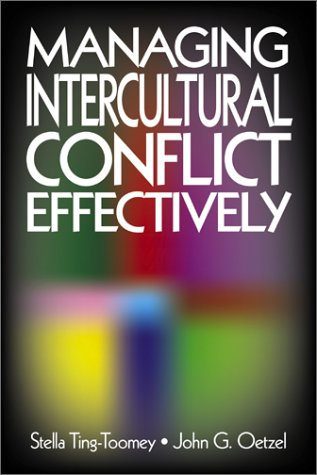 Managing Intercultural Conflict Effectively   2001 edition cover