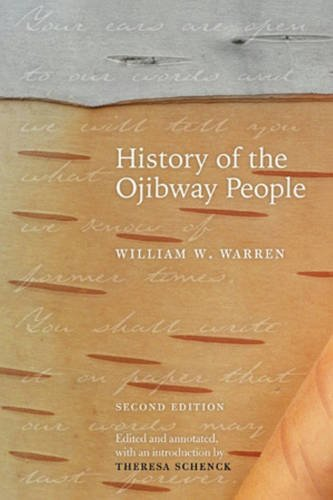 History of the Ojibway People  2nd 2009 edition cover