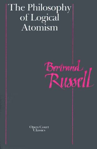 Philosophy of Logical Atomism  N/A edition cover
