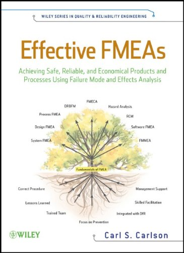 Effective FMEAs Achieving Safe, Reliable, and Economical Products and Processes Using Failure Mode and Effects Analysis  2012 9781118007433 Front Cover