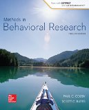 Methods in Behavioral Research:   2014 edition cover