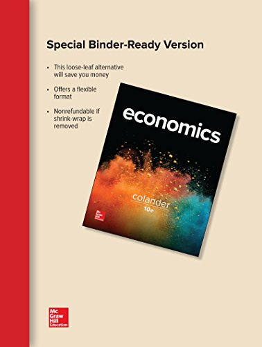 ECONOMICS (LOOSELEAF)                   N/A 9781259658433 Front Cover