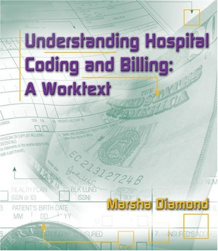 Understanding Hospital Coding and Billing A Worktext  2007 9781401879433 Front Cover