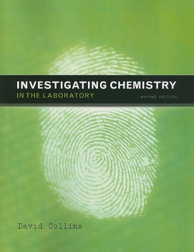 Lab Manual for Investigating Chemistry  2nd 2010 (Lab Manual) edition cover