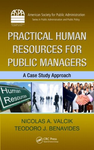 Practical Human Resources Management for Public Managers   2011 edition cover