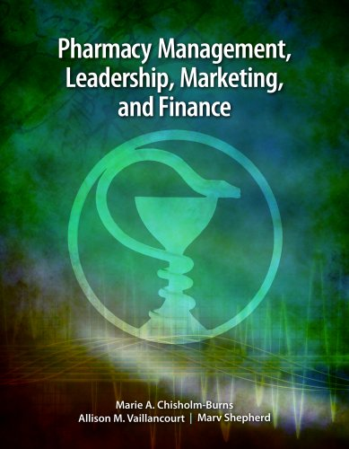 Pharmacy Management, Leadership, Marketing, and Finance   2011 edition cover