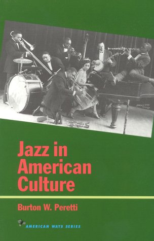 Jazz in American Culture  N/A edition cover