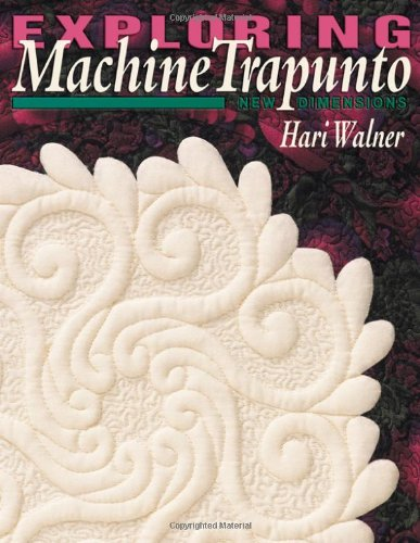Exploring Machine Trapunto New Dimensions  1999 9781571200433 Front Cover