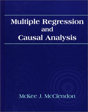 Multiple Regression and Causal Analysis   1994 edition cover