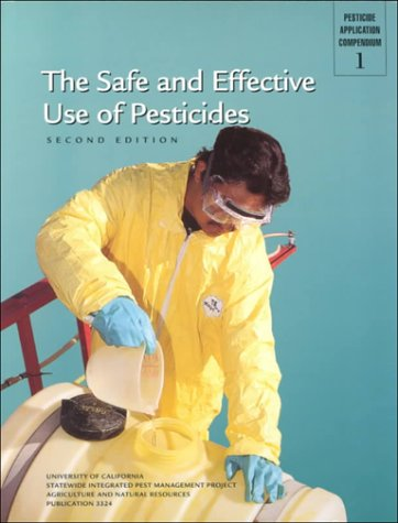 Safe and Effective Use of Pesticides   2000 edition cover