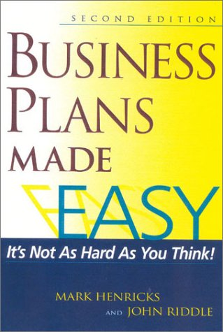 Business Plans Made Easy  2nd 2002 (Revised) 9781891984433 Front Cover