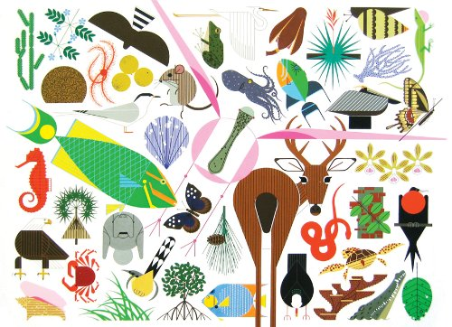 Charley Harper's Animal Kingdom   2012 9781934429433 Front Cover