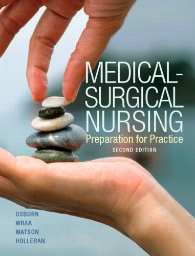 Medical-Surgical Nursing Plus NEW MyNursingLab with Pearson EText (24-Month Access) -- Access Card Package  2nd 2014 9780133413434 Front Cover